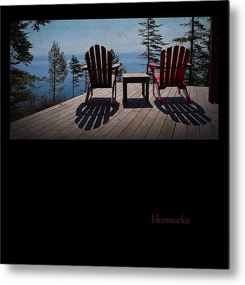 90likes Metal Print featuring the photograph Wish You Were Here by Matthew Blum