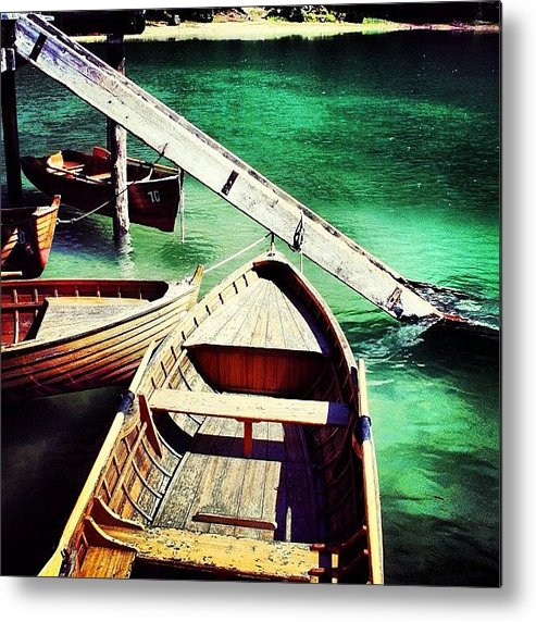 Beautiful Metal Print featuring the photograph Braies by Luisa Azzolini