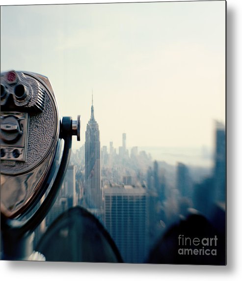 Nyc Metal Print featuring the photograph Empire State Building NYC by Kim Fearheiley