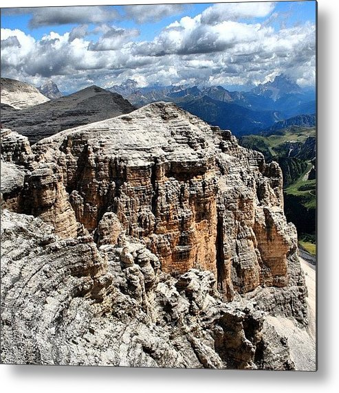 Beautiful Metal Print featuring the photograph Dolomites by Luisa Azzolini