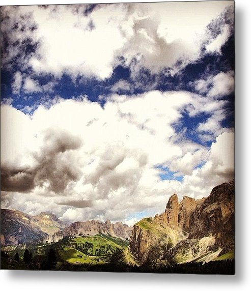 Mountain Metal Print featuring the photograph Dolomiti by Luisa Azzolini