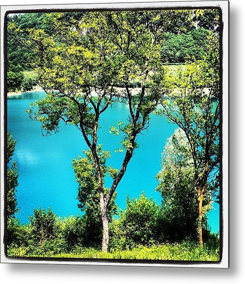 Beautiful Metal Print featuring the photograph Lake Of Tenno by Luisa Azzolini