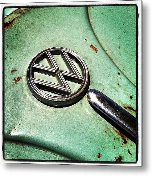 Volkswagon Metal Print featuring the photograph 61 V W by Gwyn Newcombe