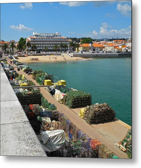 Cascais Metal Print featuring the photograph Ready for Fishing Tomorrow by Kirsten Giving