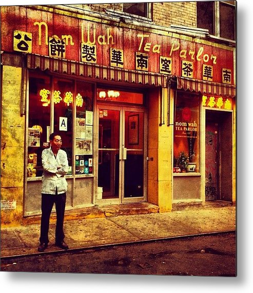 Travel Metal Print featuring the photograph Taking A Break in Chinatown by Luke Kingma