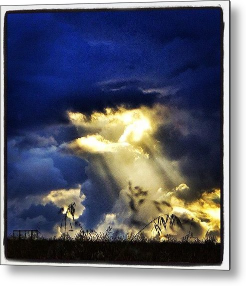 Primeshots Metal Print featuring the photograph The Gap In The Clouds by Carl Milner