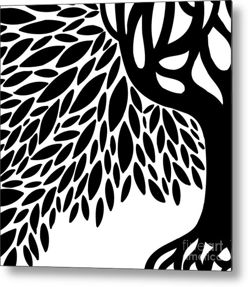 Tree Metal Print featuring the photograph Tree Graphic by HD Connelly