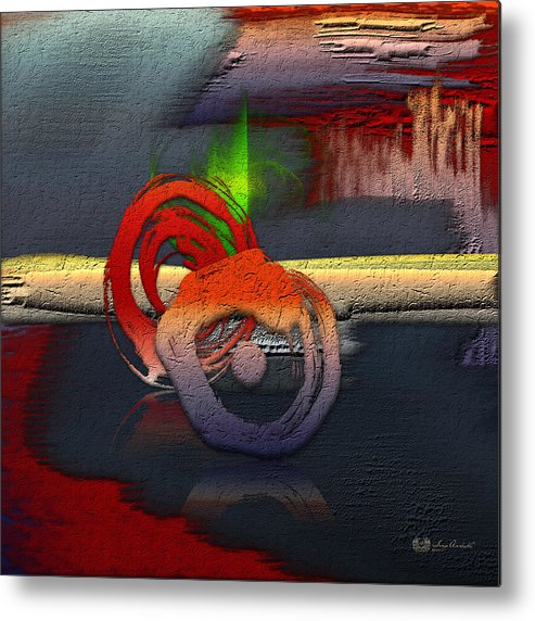 Abstracts Plus By Serge Averbukh Metal Print featuring the photograph The Night is Young by Serge Averbukh