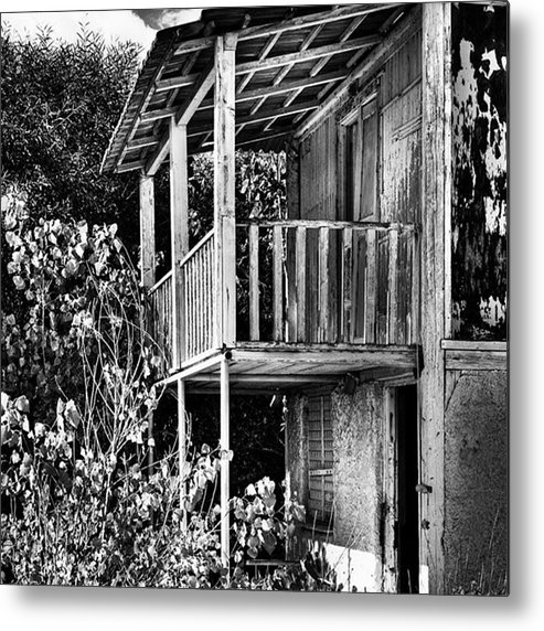 Amazing Metal Print featuring the photograph Abandoned, Kalamaki, Zakynthos by John Edwards