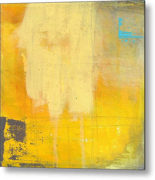 Abstract Metal Print featuring the painting Afternoon Sun -Large by Linda Woods