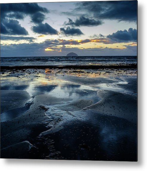 Scotland Metal Print featuring the photograph Ailsa Craig by Peter OReilly