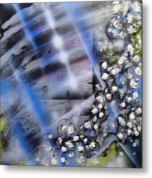 Freedom Metal Print featuring the painting ArtLeigh 007 by Leigh Odom