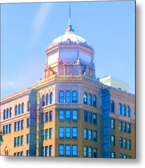 Urban Metal Print featuring the photograph Every Tuesday, I See The by Shari Warren