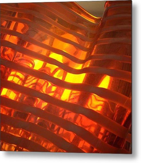 Glass Metal Print featuring the photograph Glass Vase #juansilvaphotos by Juan Silva
