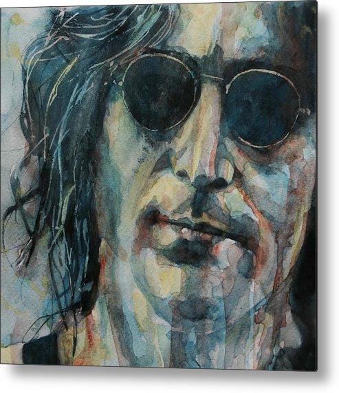 John Lennon Metal Print featuring the painting John Lennon by Paul Lovering