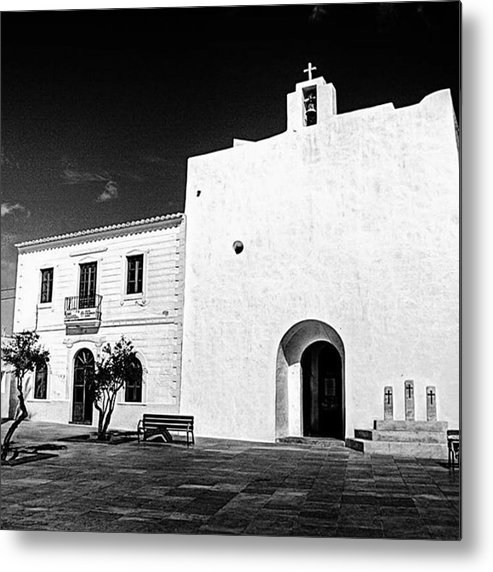 Balearics Metal Print featuring the photograph Fortified Church, Formentera by John Edwards