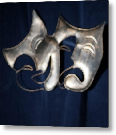 Logo Metal Print featuring the photograph Logo for Theater Productions by Alan D Smith