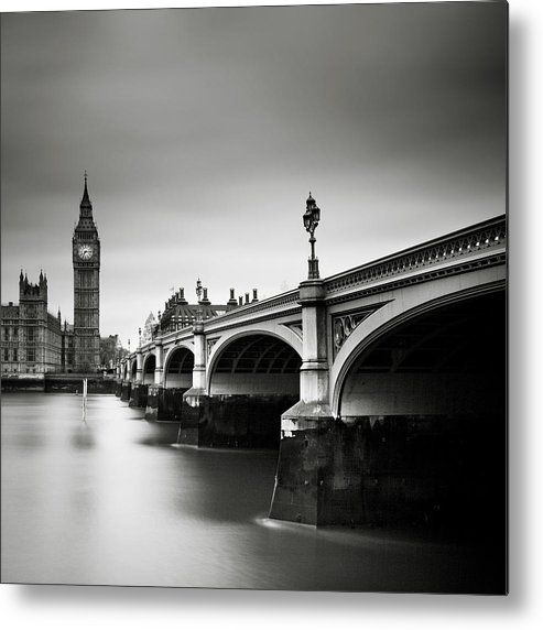 London Metal Print featuring the photograph London Westminster by Nina Papiorek