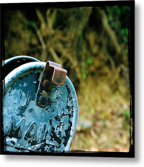 Mailbox Metal Print featuring the photograph Mail by Leon Hollins III