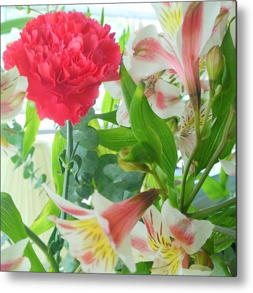Plants Metal Print featuring the photograph More #spring #flowers? Yes, Please ! by Shari Warren