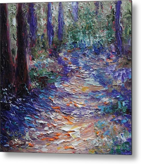 Nelder Grove Metal Print featuring the painting Nelder Grove by Shannon Grissom