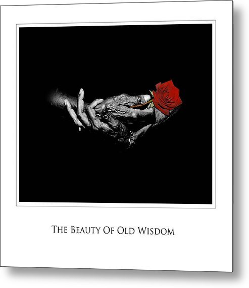 Photography Metal Print featuring the photograph Old Wisdom by Richard Gordon