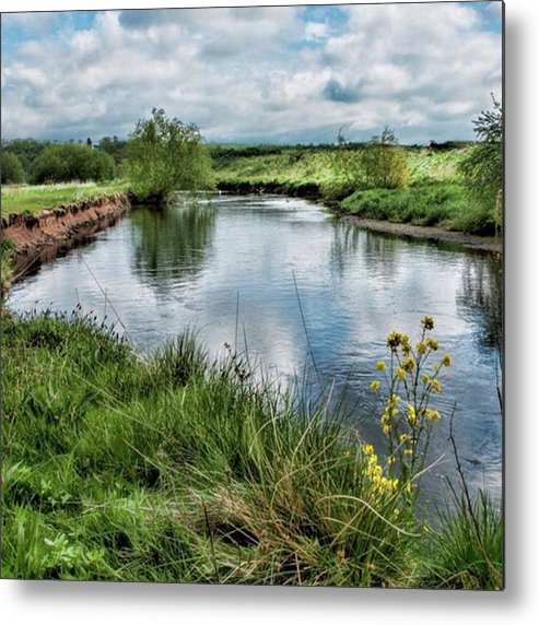 Nature_perfection Metal Print featuring the photograph River Tame, Rspb Middleton, North by John Edwards