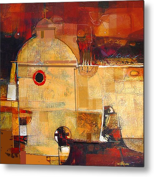 Landscape Metal Print featuring the digital art San Ignacio by Dale Witherow