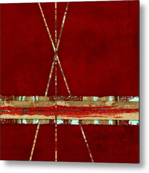 Standing Ground Metal Print featuring the photograph Standing Ground Square Format by Carol Leigh
