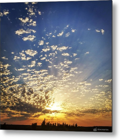 Sunset Metal Print featuring the photograph Stunning Sunset by Miguel Angel