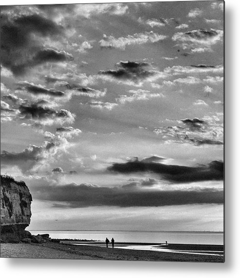 Natureonly Metal Print featuring the photograph The End Of The Day, Old Hunstanton by John Edwards