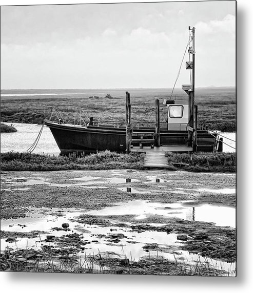 Amazing Metal Print featuring the photograph Thornham Harbour, North Norfolk by John Edwards