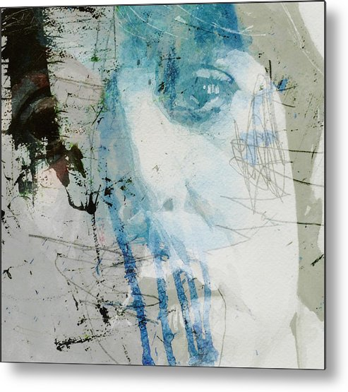 Paul Mccartney Metal Print featuring the mixed media Waterfall by Paul Lovering