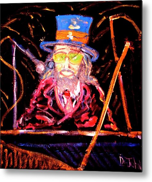 Dr.john Metal Print featuring the painting Yes Such A Night by Richard Hubal