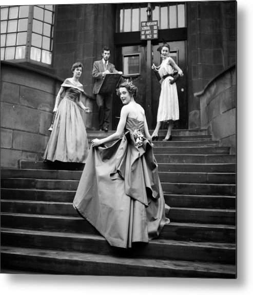 Education Metal Print featuring the photograph Student Parade by Haywood Magee