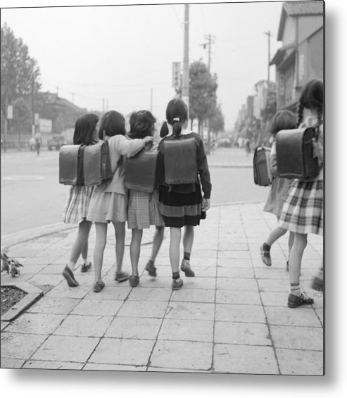 Education Metal Print featuring the photograph Sweet Satchels by Orlando