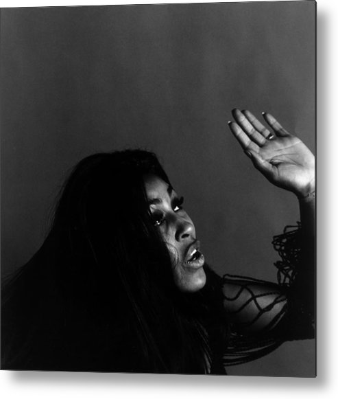 Rock Music Metal Print featuring the photograph Tina Turner by Jack Robinson