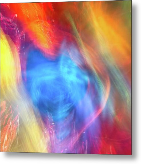 Background Metal Print featuring the photograph Abstract 61 by Steve DaPonte