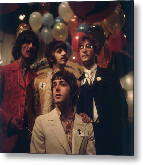 Rock Music Metal Print featuring the photograph All You Need Is Love by Bips