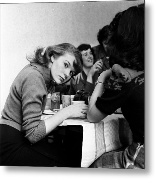 1950-1959 Metal Print featuring the photograph Between Shows by John Chillingworth