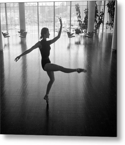 Ballet Dancer Metal Print featuring the photograph Daphne Dale Dances by John Chillingworth