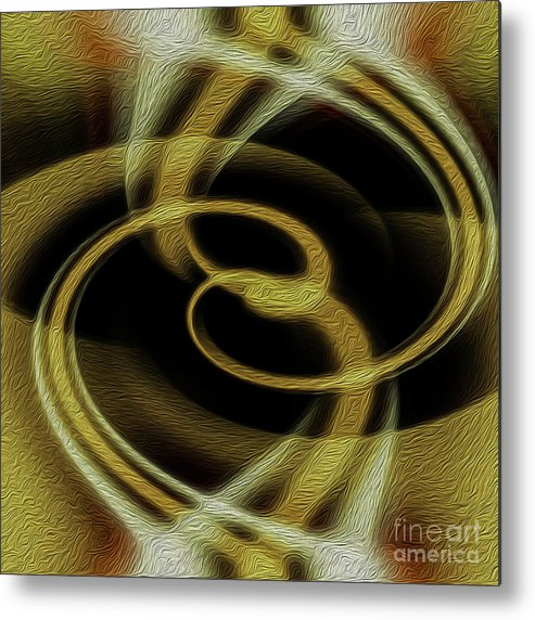 Print Metal Print featuring the digital art Dimensional Paradox 4 by Kenneth Montgomery