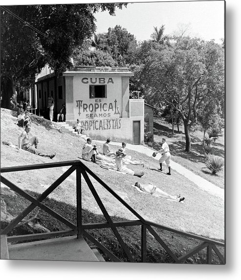 Timeincown Metal Print featuring the photograph Dodgers Spring Training by William Vandivert