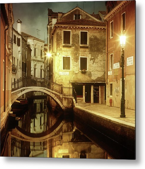 Empty Metal Print featuring the photograph Dreaming Venice by Mammuth