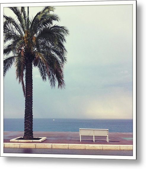 Tranquility Metal Print featuring the photograph French Riviera by Ixefra