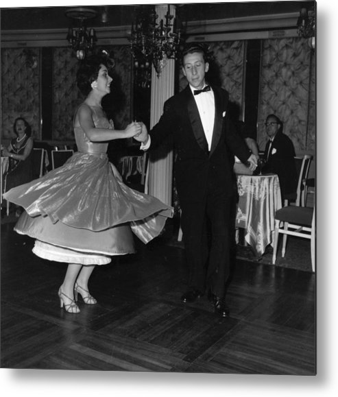 1950-1959 Metal Print featuring the photograph Jiving by Express Newspapers