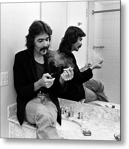 John Prine Metal Print featuring the photograph John Prine Portrait Session by George Rose