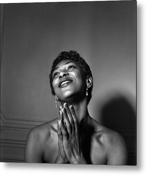 Singer Metal Print featuring the photograph Leontyne Price by Reporters Associes
