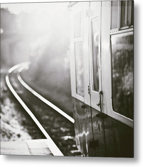 Train Metal Print featuring the photograph Long Train Running by James Homer