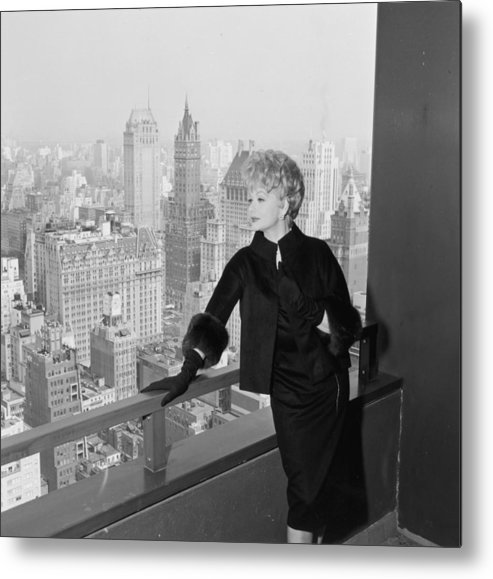 Apartment Metal Print featuring the photograph Lucille Ball by Hulton Archive